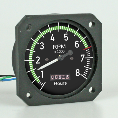 RC Scale Instrument Tachometer