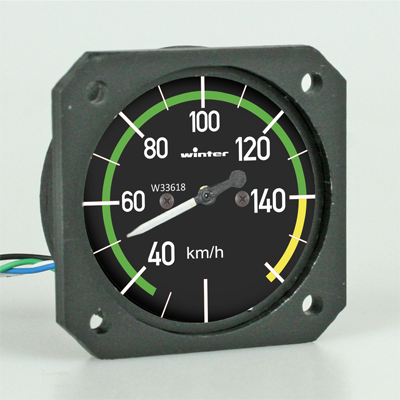 RC Scale Speedmeter