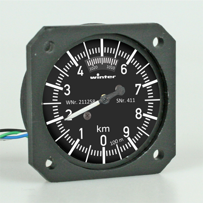 RC Scale Instrument Altimeter