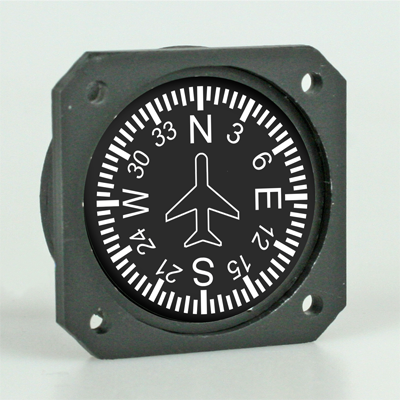 RC Scale Instrument Compass