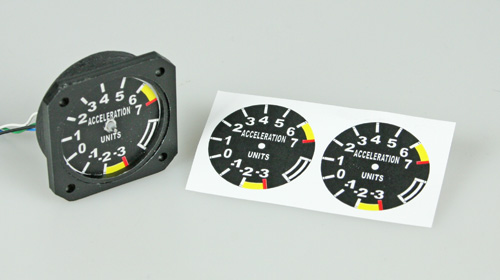Dials and Drive for Scale Cockpit